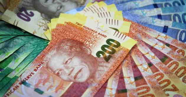 Rand sudafrica ZAR